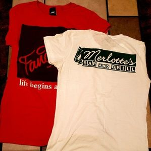 Womens size large true blood shirts
